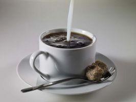 Cómo hacer su propio sabor a café Creamer,