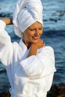 Cómo hacer un turbante Wrap con una toalla