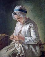 Chaquetas de las señoras en el siglo 18