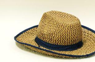 ¿Cómo dar forma a un sombrero vaquero de Palm con vapor