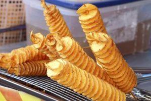 Cómo cortar las patatas en espiral