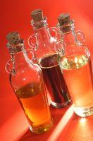 Cómo hacer aceites para el cuerpo con color añadido