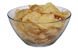 Patatas fritas vs. chips de verduras