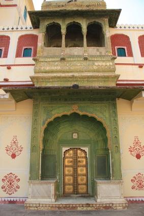 Los monumentos antiguos en la India