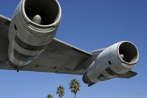 Tres tipos de aviones comerciales utilizados por las principales compañías aéreas