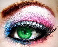 Estilos de maquillaje de colores