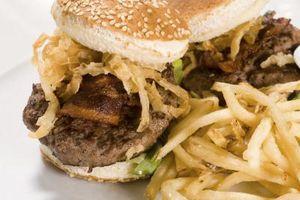 Cómo cocinar hamburguesas de carne de Kobe