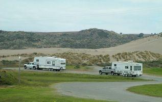 Cómo configurar un camping RV