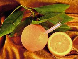 Los sustitutos para el zumo de naranja concentrado