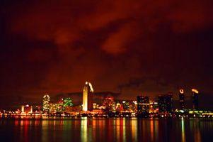 Las cosas en el lunes por la noche en San Diego, California