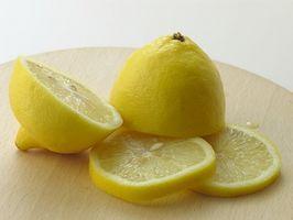 Cómo hacer pan sin azúcar de limón con limón glaseado