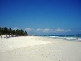Los viajes de paquetes a Cancún