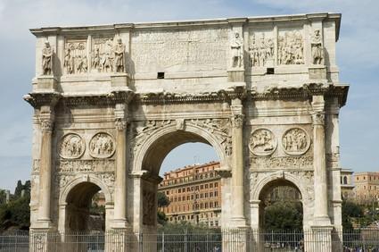 Antiguos monumentos romanos