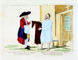 ¿Qué tipo de ropa que la gente hizo llevar durante la Revolución Francesa?