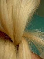 Tratamiento de aceite de almendras para el cabello seco