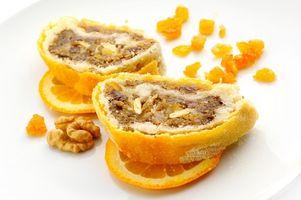 Cómo hacer pasteles de frutas con cáscara de naranja confitada