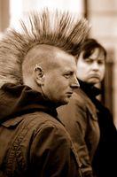 Peinados punk británico