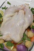 Cómo cocer al horno una gallina