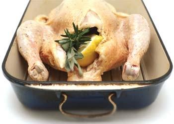 Cómo asar un pollo