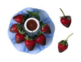 Cómo Refrigerar fresas cubiertas de chocolate