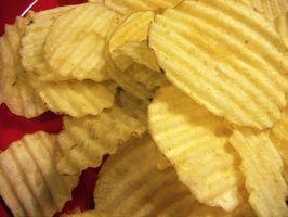 Cómo hacer patatas chip de Batter