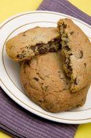 Cómo utilizar Choclate Mollete de la viruta de la mezcla para hacer las galletas
