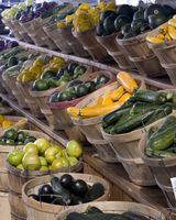 Condimentos para las verduras