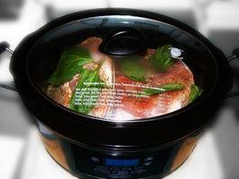 Como descongelar alimentos en una olla de presión