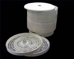 Cómo utilizar un deshidratador de alimento de la bandeja
