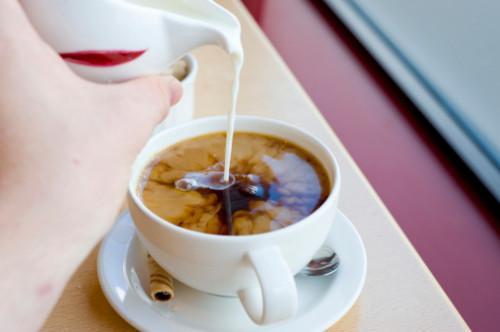 Casera de vainilla francesa café Creamer,