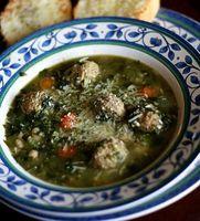 Cómo hacer una auténtica sopa italiana de la boda