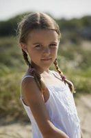 Trenzada estilos de cabello para los niños con el pelo corto