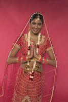 India peinados tradicionales para una ceremonia de boda