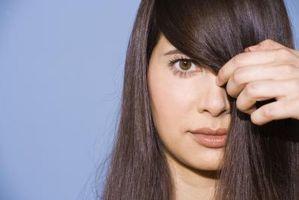 Cómo hacer un zigzag en el pelo