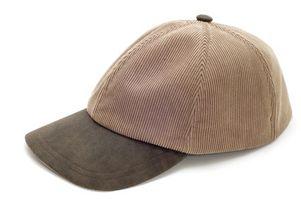 Cómo hacer una gorra de béisbol cabida Menor