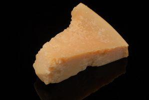 Forma de guardar queso parmesano