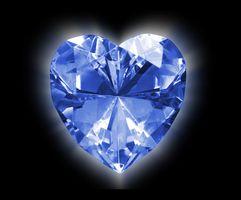 La información sobre los diamantes azules