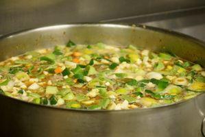 ¿Cómo Para espesar la sopa vegetal