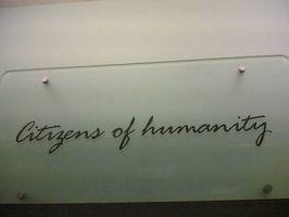 Acerca de los ciudadanos de los pantalones vaqueros Humanidad