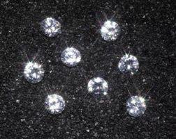Los diamantes de imitación de diamante y Sustitutos