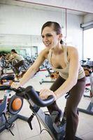 Cómo Sprint en las bicis en el gimnasio