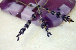 Receta casera de jabón Lavanda Manzanilla