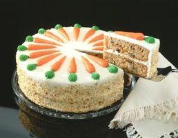Cómo congelar la torta de zanahoria