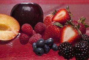Los métodos de medición de etanol en las frutas