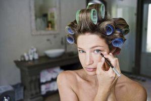No usar maquillaje de ojos que tu rostro saludable?