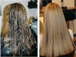 Las técnicas para alisar cabello permanentes