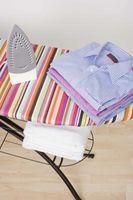 Tipos de ropa que se puede por pulverización Starched