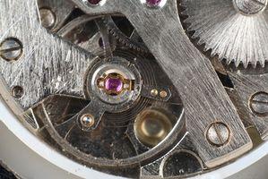 Cómo reparar un reloj automático Seiko