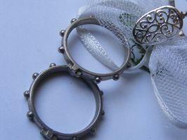 ¿Cómo puedo Tamaño anillos de titanio?