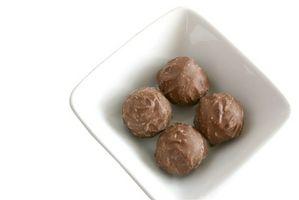 Cómo congelar ganache de chocolate